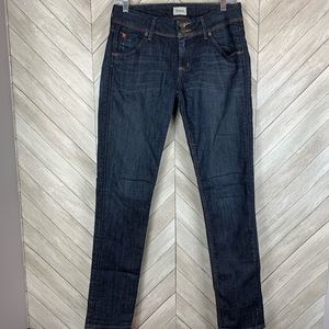 Hudson Colin flap skinny jeans. Size 28